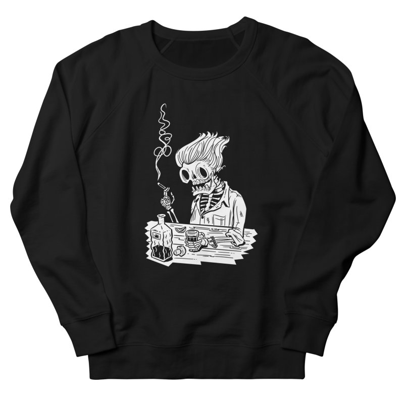 Tequila Sunset Men's Sweatshirt by Illustrator and Designer Alan Defibaugh's Shop