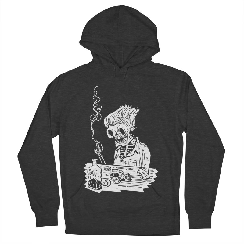 Tequila Sunset Men's Pullover Hoody by Illustrator and Designer Alan Defibaugh's Shop