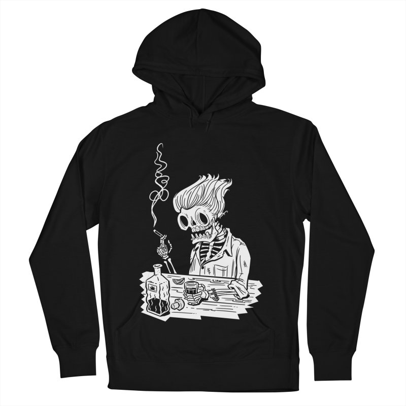 Tequila Sunset Men's French Terry Pullover Hoody by Illustrator and Designer Alan Defibaugh's Shop