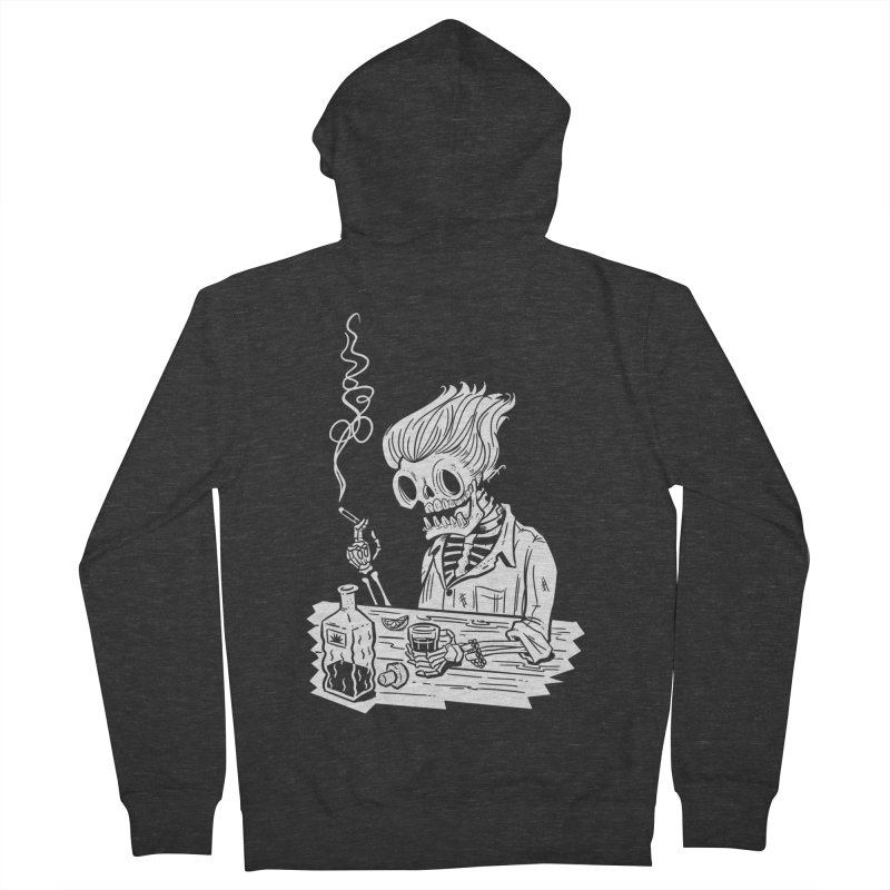 Tequila Sunset Men's French Terry Zip-Up Hoody by Illustrator and Designer Alan Defibaugh's Shop