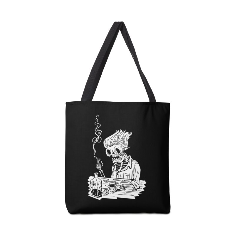 Tequila Sunset Accessories Tote Bag Bag by Illustrator and Designer Alan Defibaugh's Shop