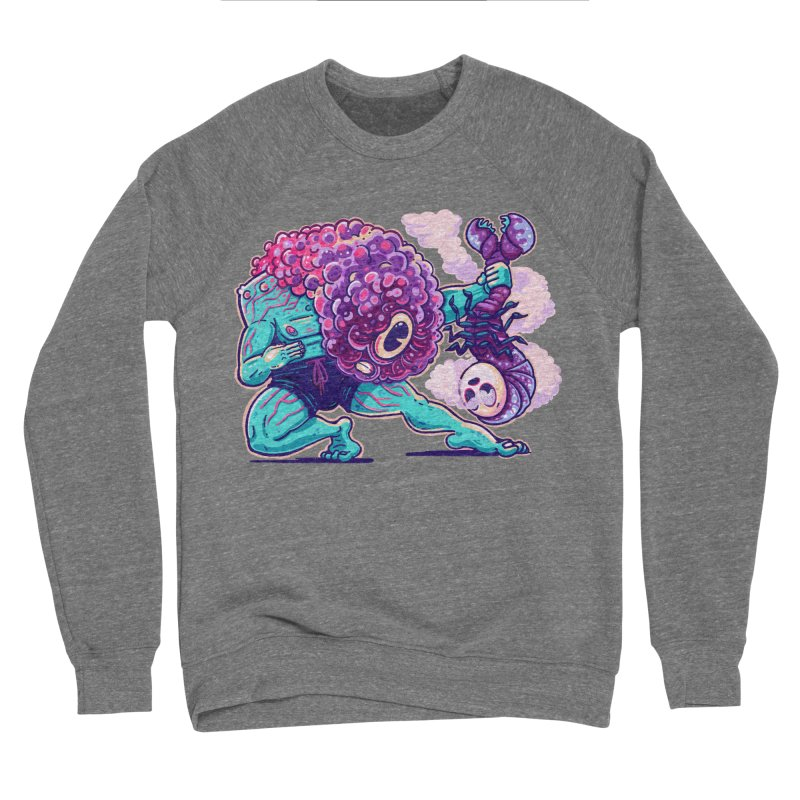 Shrimp Punch Women's Sweatshirt by Illustrator and Designer Alan Defibaugh