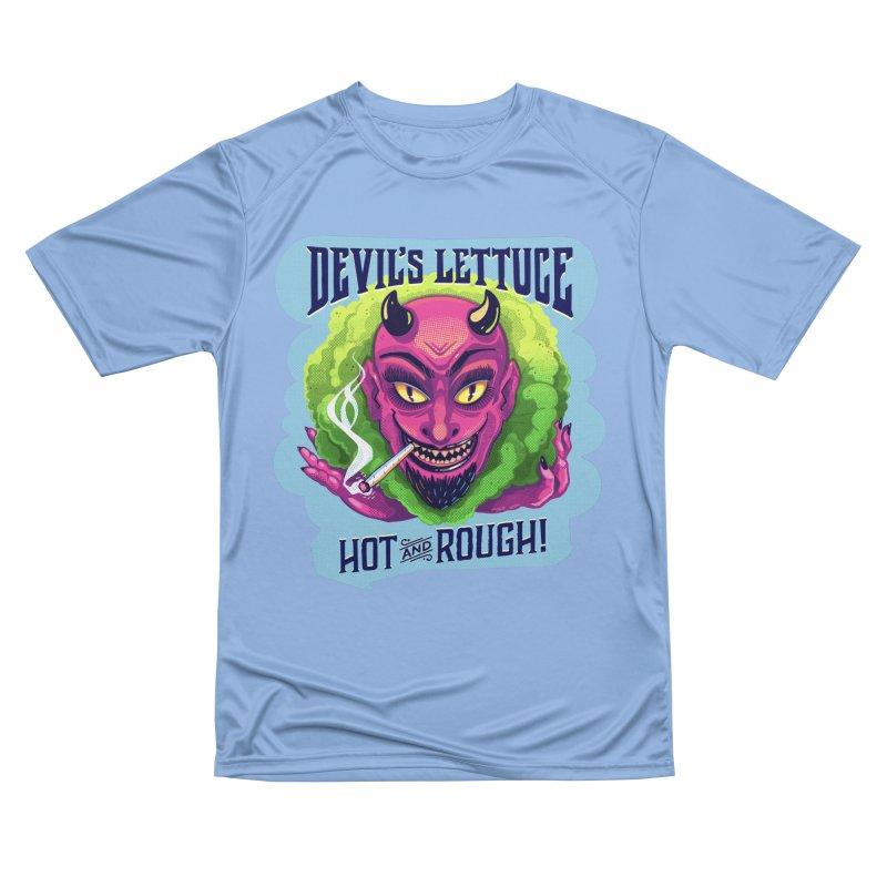 The Devil's Lettuce is Hot & Rough Men's T-Shirt by Illustrator and Designer Alan Defibaugh