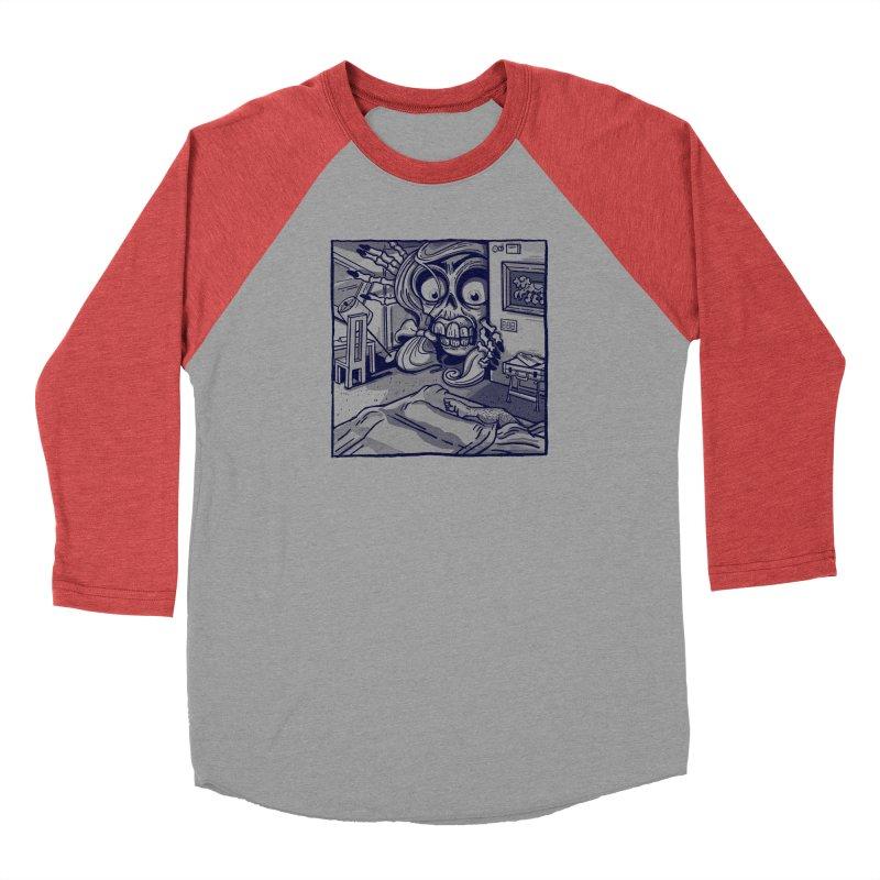 Skeleton Hotel Men's Longsleeve T-Shirt by Illustrator and Designer Alan Defibaugh