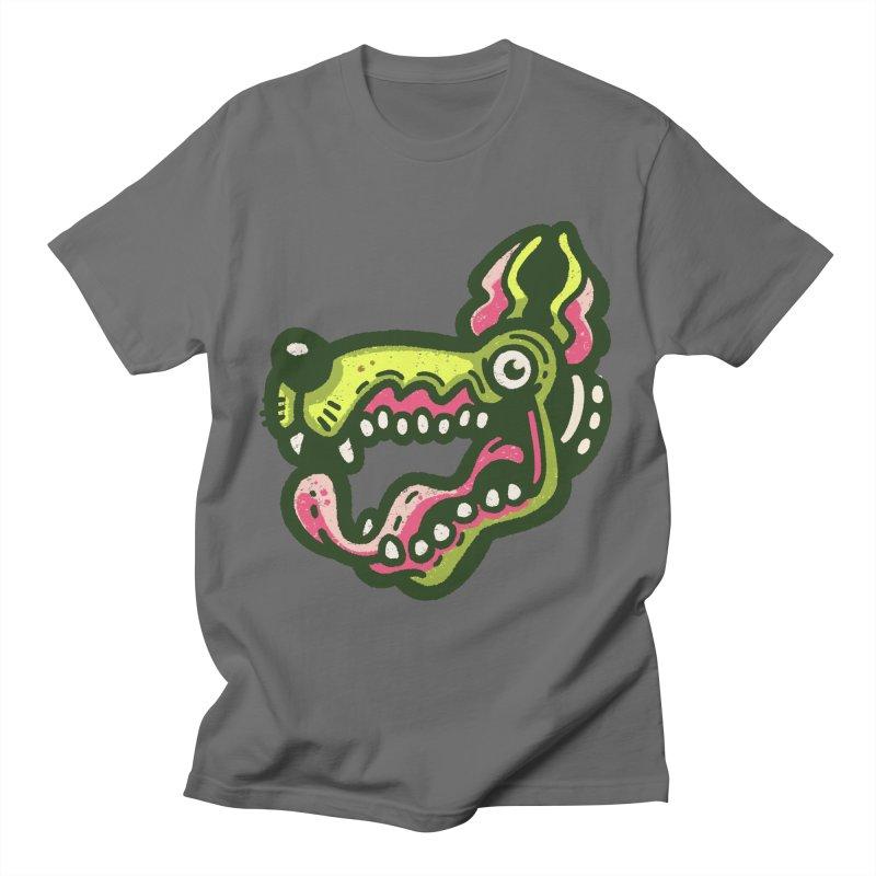Green Great Dane Women's T-Shirt by Illustrator and Designer Alan Defibaugh