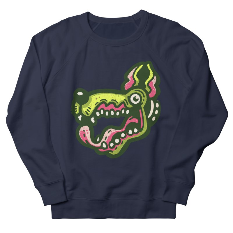 Green Great Dane Women's Sweatshirt by Illustrator and Designer Alan Defibaugh
