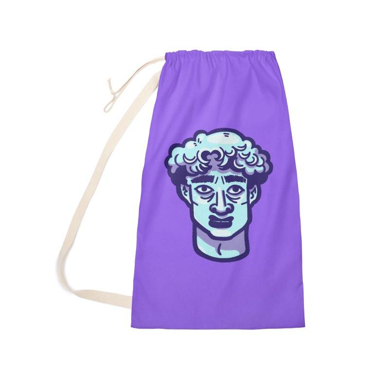 David Bust Accessories Bag by Illustrator and Designer Alan Defibaugh
