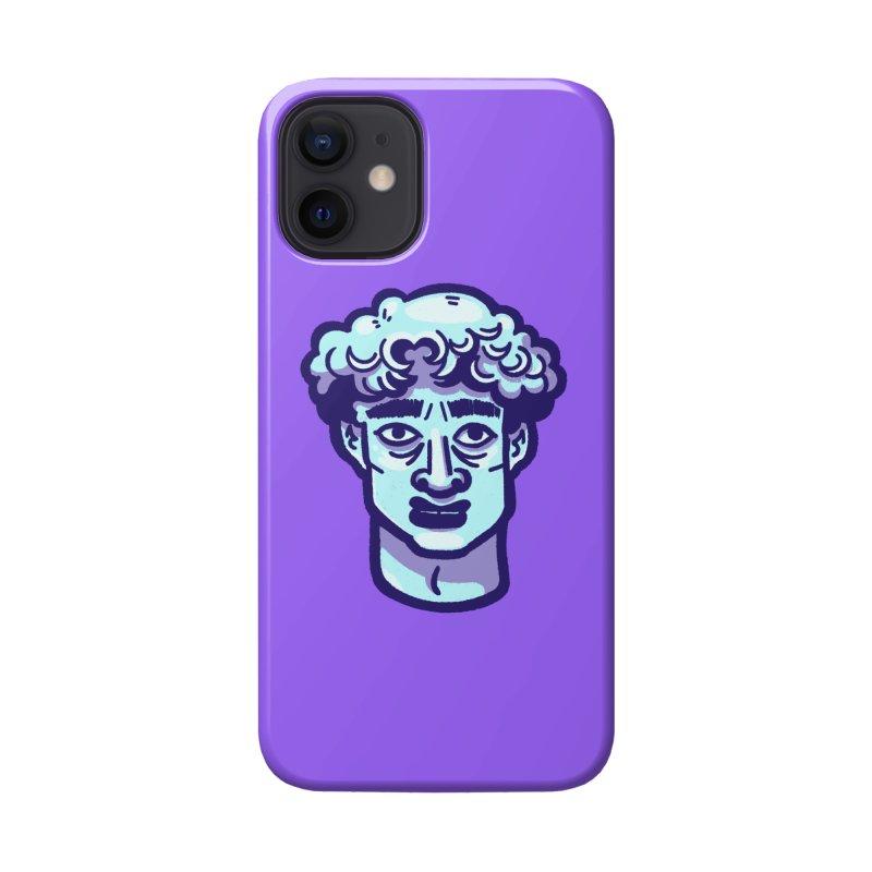 David Bust Accessories Phone Case by Illustrator and Designer Alan Defibaugh