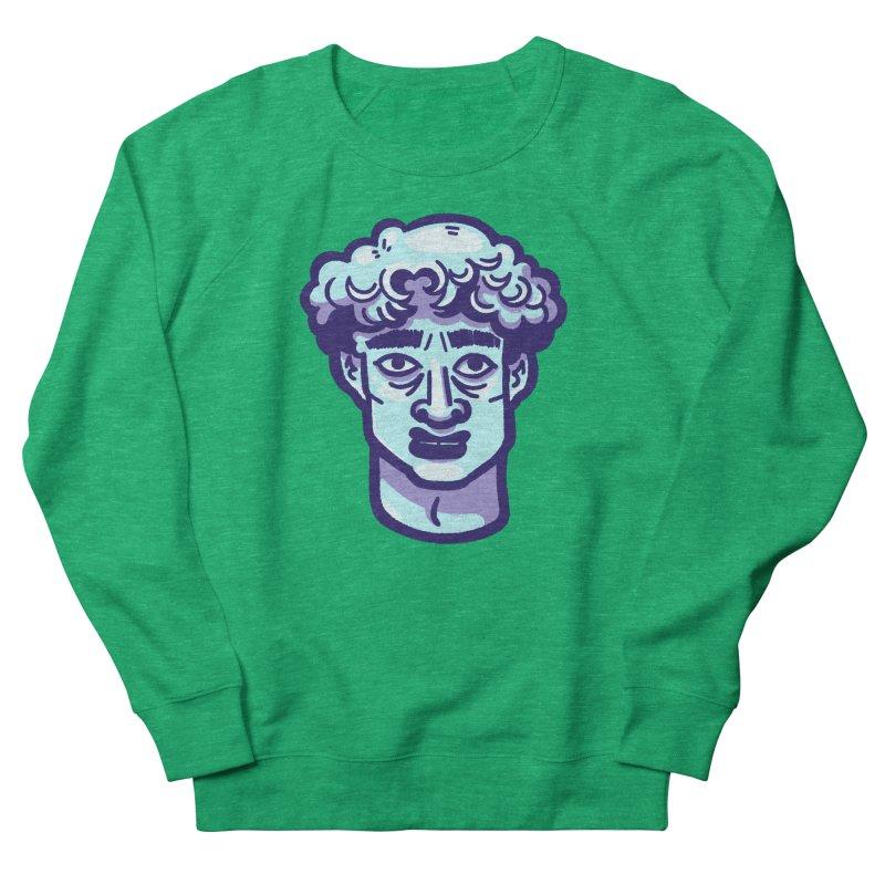 David Bust Women's Sweatshirt by Illustrator and Designer Alan Defibaugh