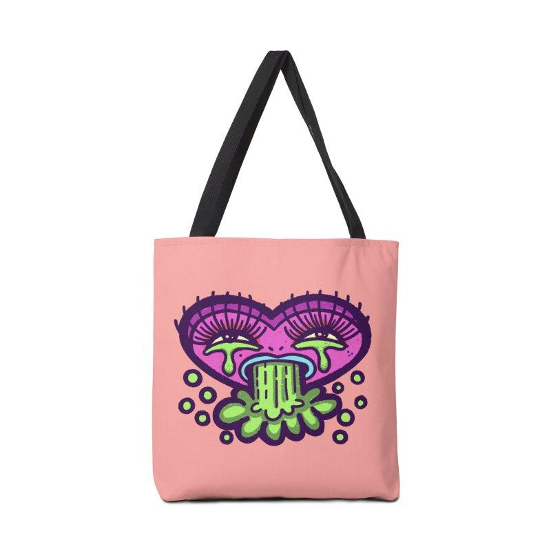 LuvSick Accessories Bag by Illustrator and Designer Alan Defibaugh
