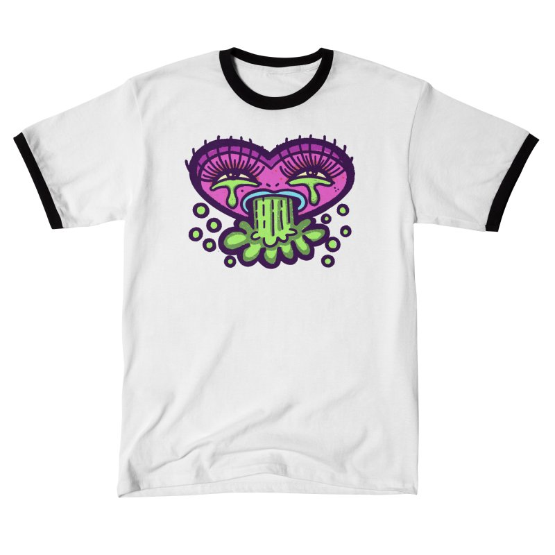 LuvSick Men's T-Shirt by Illustrator and Designer Alan Defibaugh