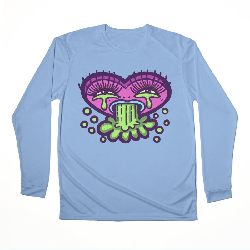 LuvSick Women's Longsleeve T-Shirt by Illustrator and Designer Alan Defibaugh