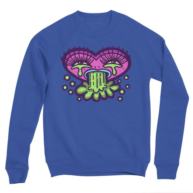 LuvSick Men's Sweatshirt by Illustrator and Designer Alan Defibaugh