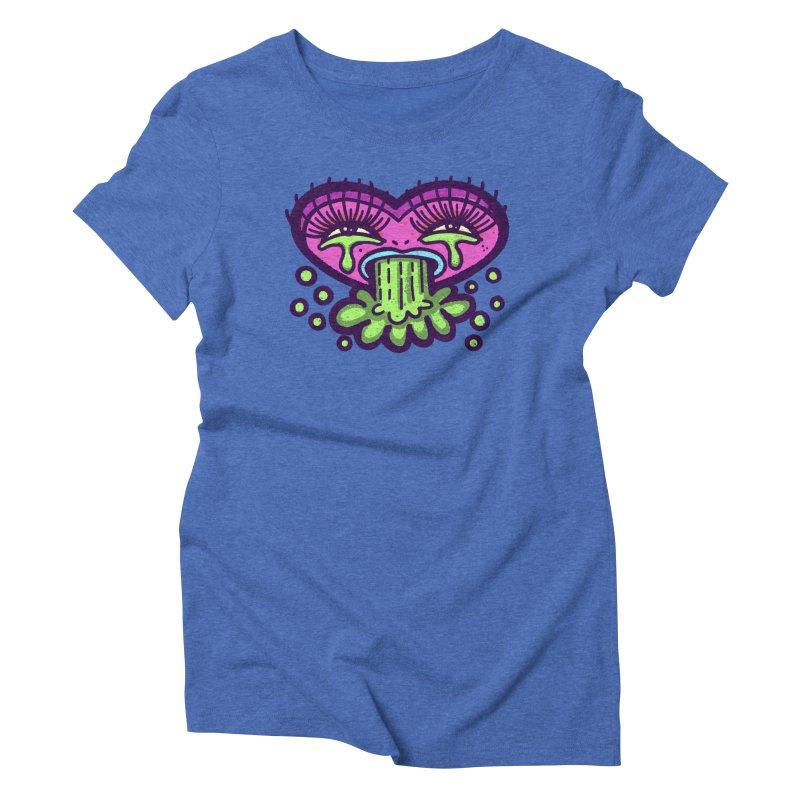 LuvSick Women's T-Shirt by Illustrator and Designer Alan Defibaugh