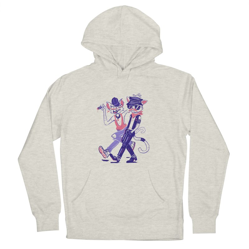 Sleazy Cats Women's Pullover Hoody by Illustrator and Designer Alan Defibaugh's Shop