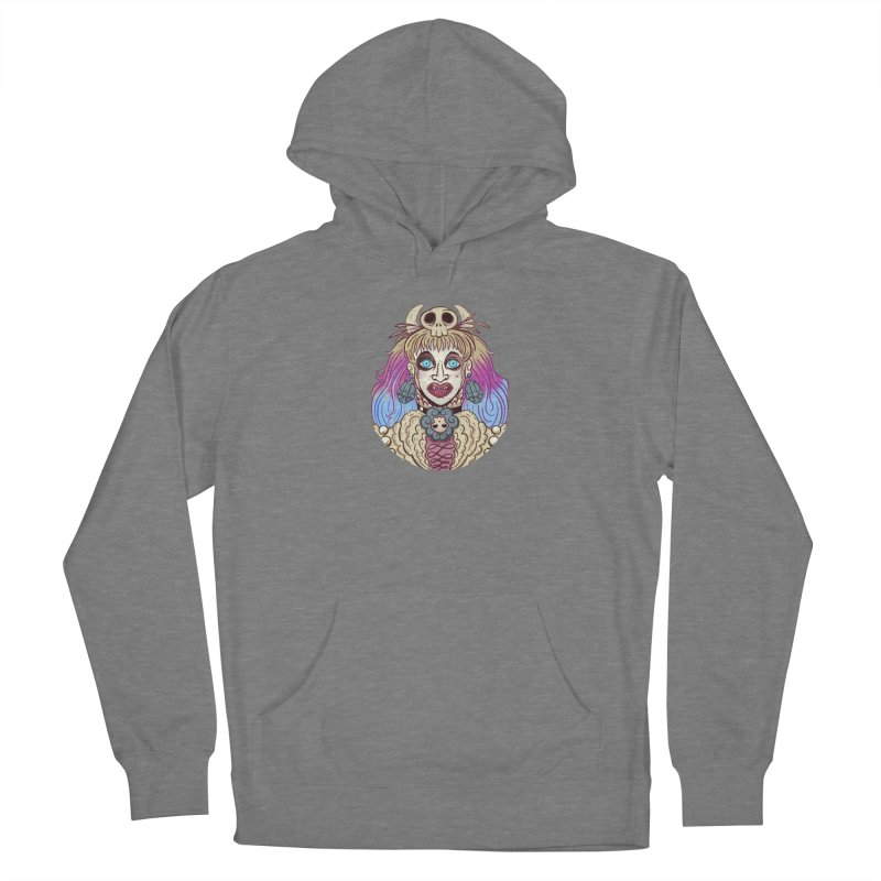 Vampire Fantasy Women's French Terry Pullover Hoody by Illustrator and Designer Alan Defibaugh's Shop