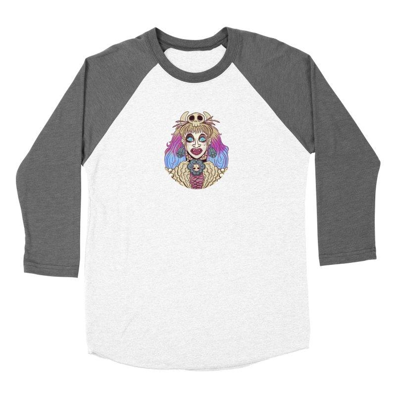 Vampire Fantasy Men's Baseball Triblend Longsleeve T-Shirt by Illustrator and Designer Alan Defibaugh's Shop
