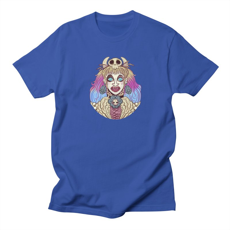 Vampire Fantasy Men's Regular T-Shirt by Illustrator and Designer Alan Defibaugh's Shop