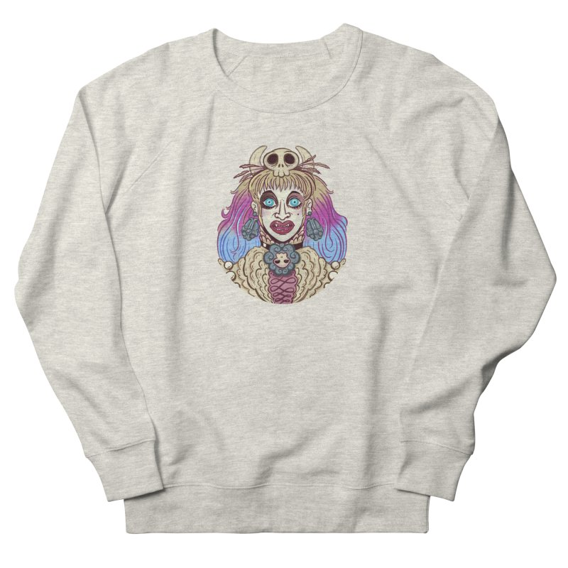 Vampire Fantasy Women's French Terry Sweatshirt by Illustrator and Designer Alan Defibaugh's Shop