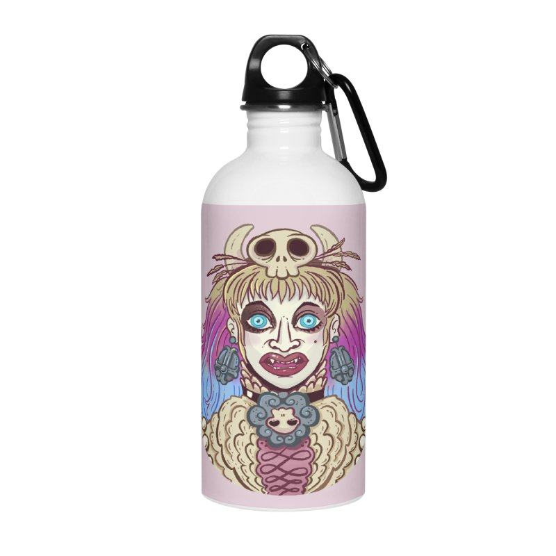 Vampire Fantasy Accessories Water Bottle by Illustrator and Designer Alan Defibaugh's Shop