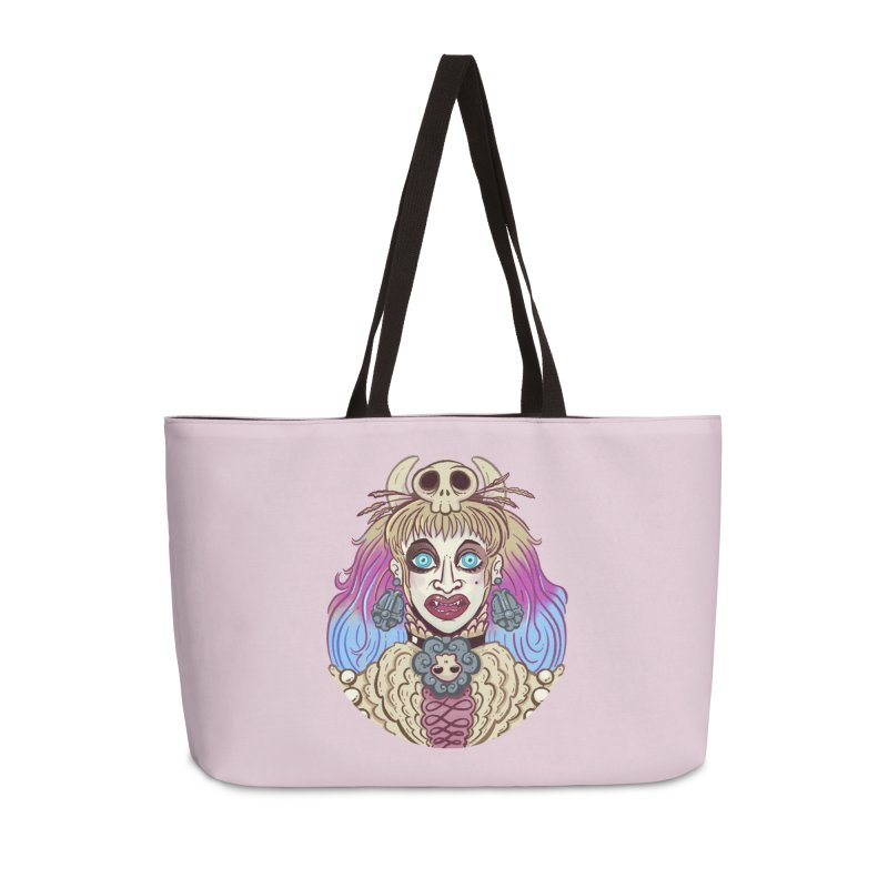 Vampire Fantasy Accessories Weekender Bag Bag by Illustrator and Designer Alan Defibaugh's Shop