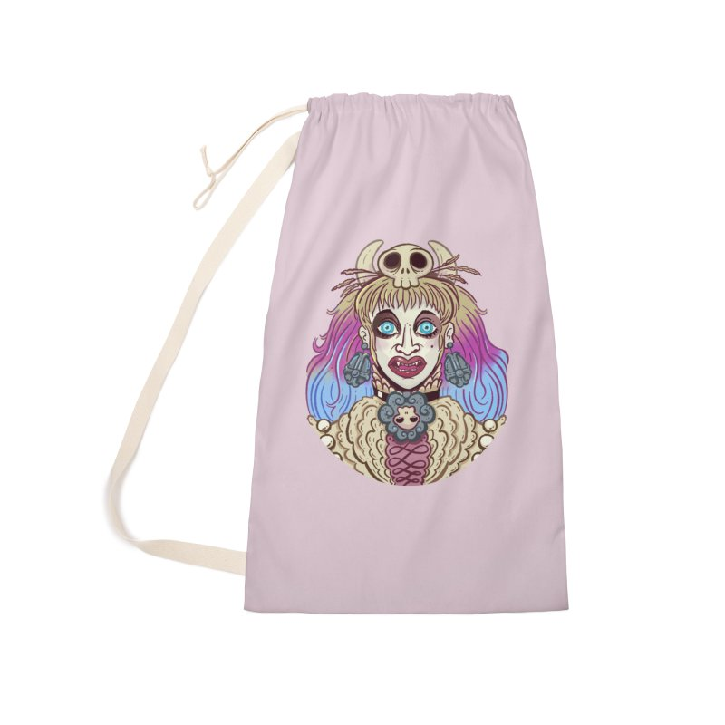Vampire Fantasy Accessories Laundry Bag Bag by Illustrator and Designer Alan Defibaugh's Shop