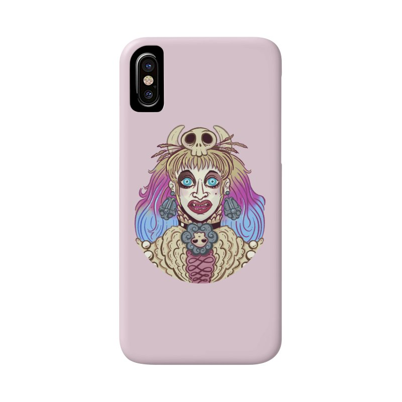 Vampire Fantasy Accessories Phone Case by Illustrator and Designer Alan Defibaugh's Shop