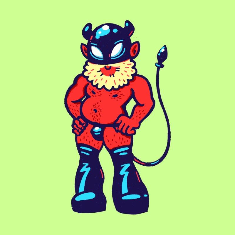 Dandelion the Devil Men's Tank by Illustrator and Designer Alan Defibaugh
