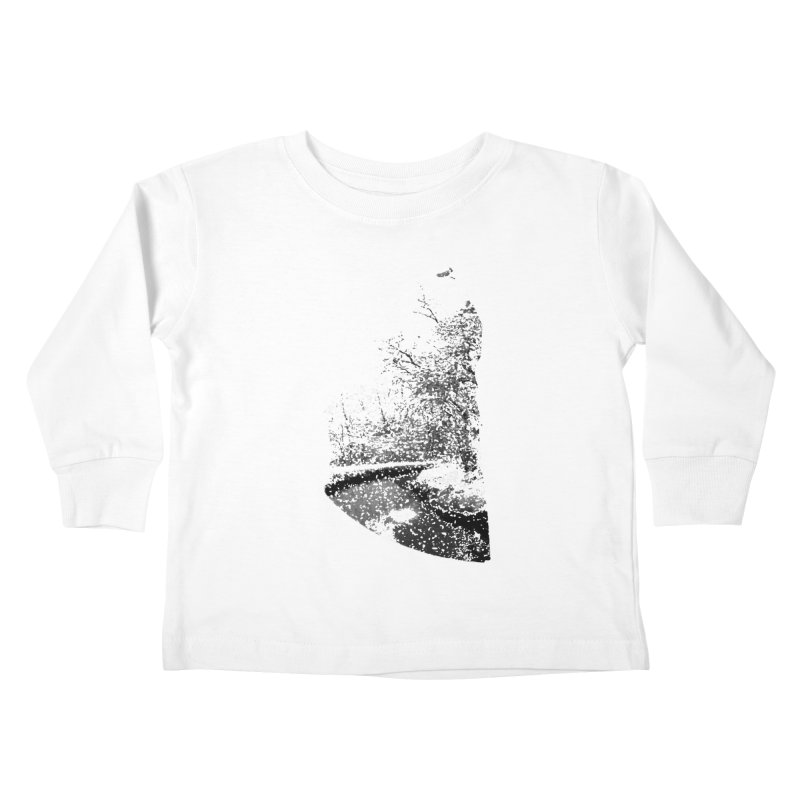 Marano Ticino Snow Kids Toddler Longsleeve T-Shirt by AlessMila's Artist Shop