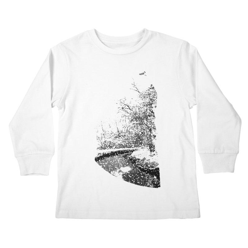 Marano Ticino Snow Kids Longsleeve T-Shirt by AlessMila's Artist Shop