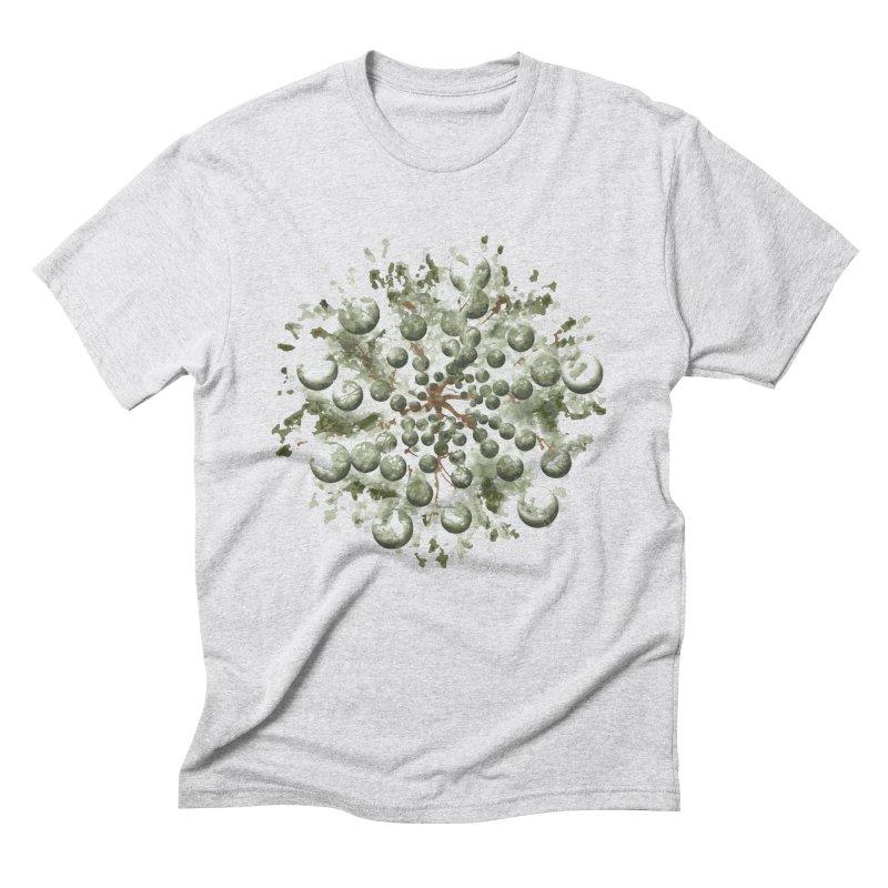 Bursting plant Men's Triblend T-Shirt by AlessMila's Artist Shop