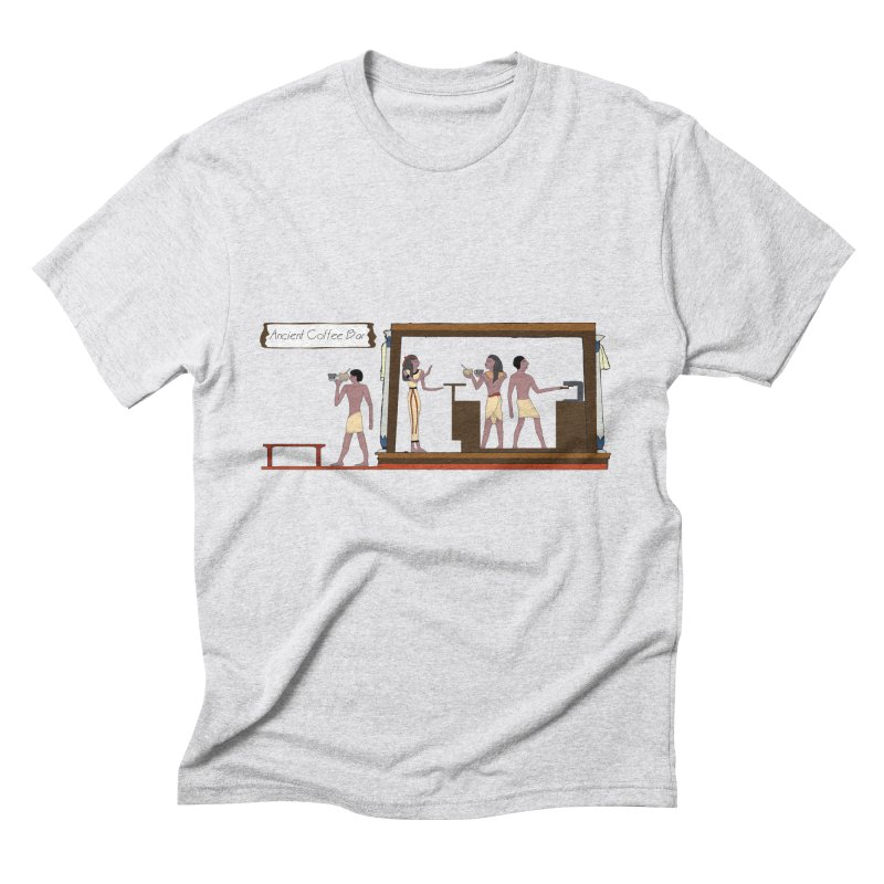 Ancient coffee Men's Triblend T-Shirt by AlessMila's Artist Shop
