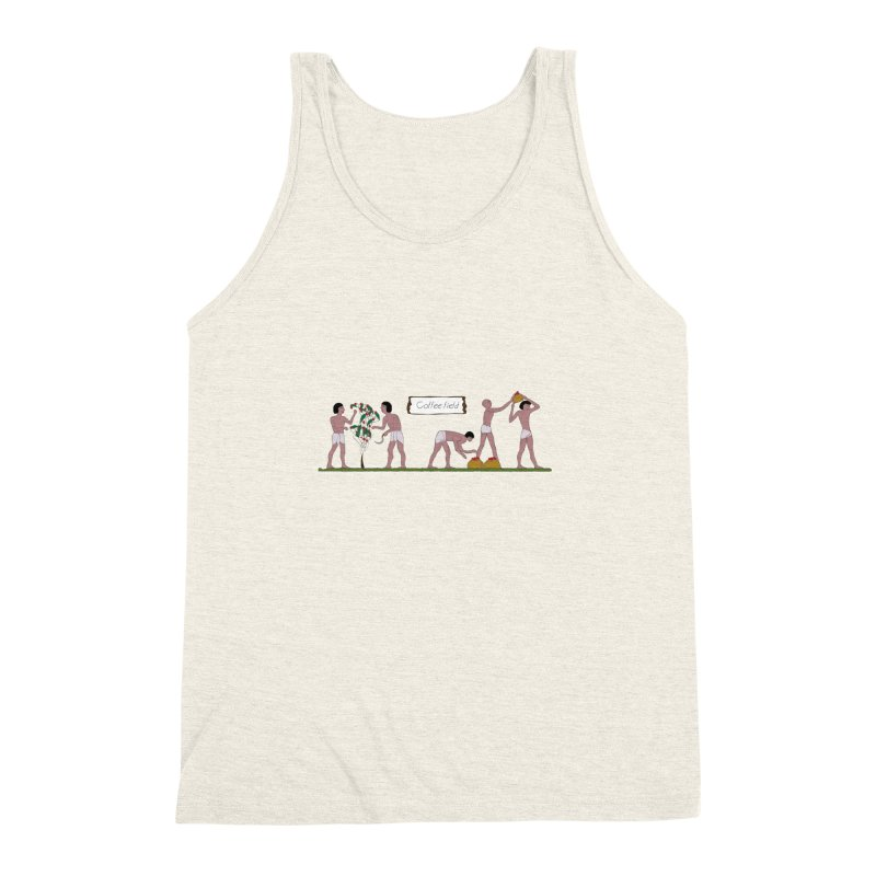 Ancient coffee plant Men's Triblend Tank by AlessMila's Artist Shop