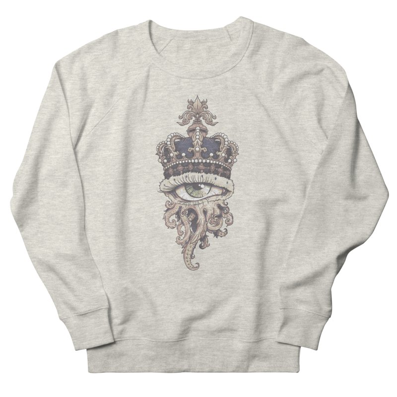 who runs the world? Women's French Terry Sweatshirt by Alexhovey's Artist Shop