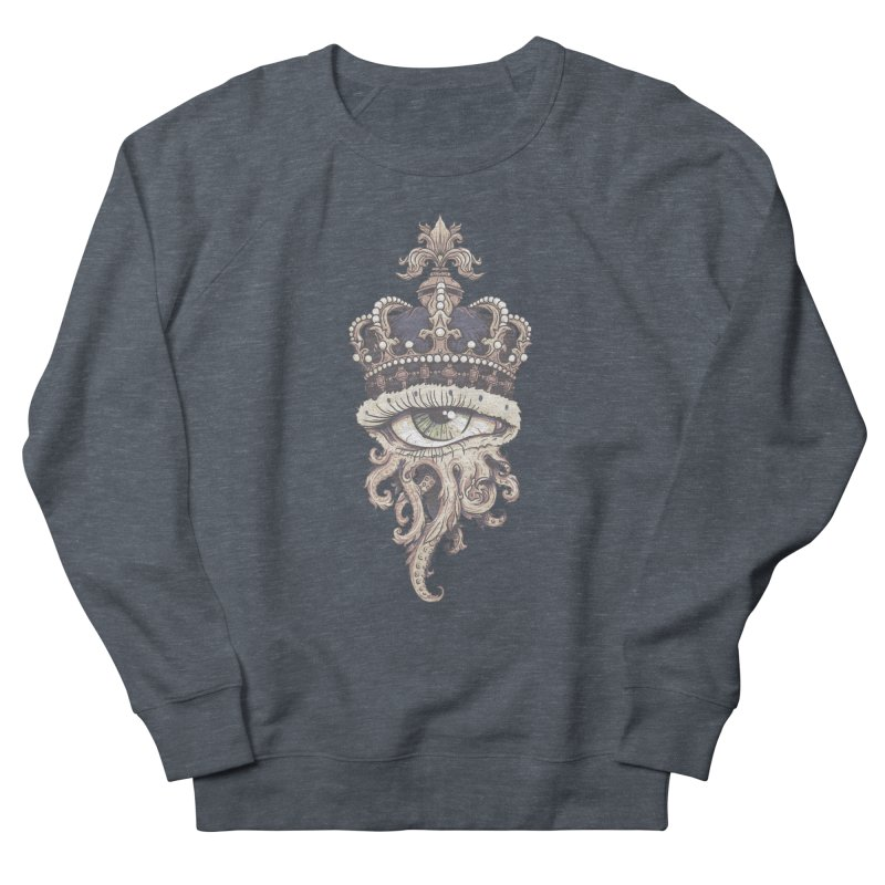 who runs the world? Men's French Terry Sweatshirt by Alexhovey's Artist Shop