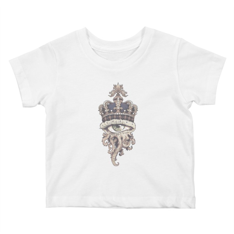 who runs the world? Kids Baby T-Shirt by Alexhovey's Artist Shop