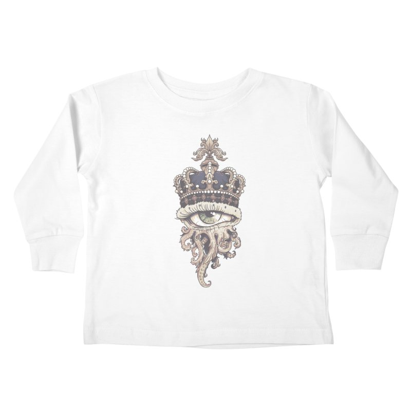 who runs the world? Kids Toddler Longsleeve T-Shirt by Alexhovey's Artist Shop