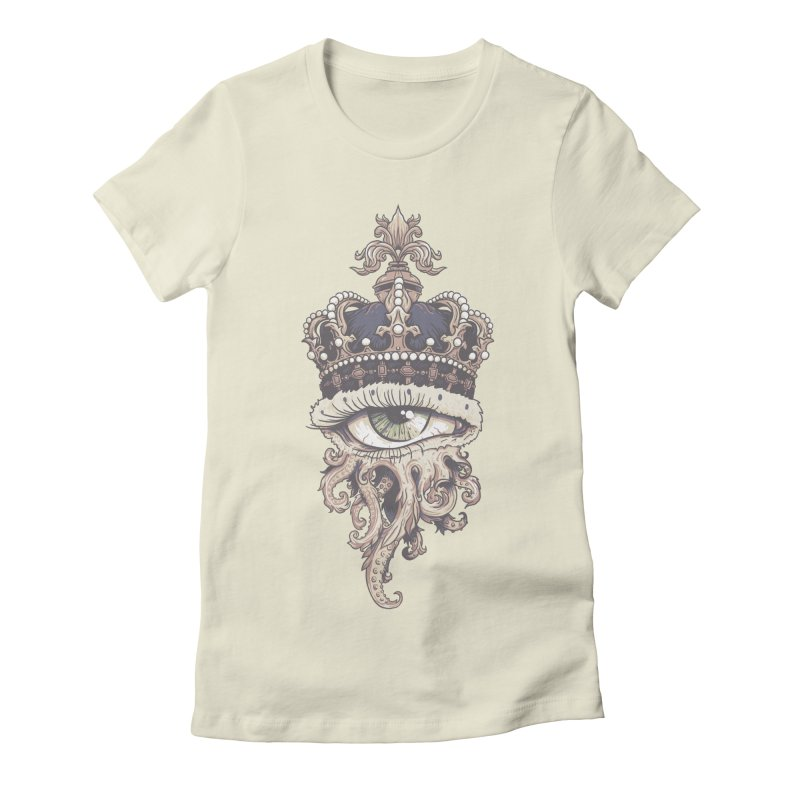 who runs the world? Women's Fitted T-Shirt by Alexhovey's Artist Shop