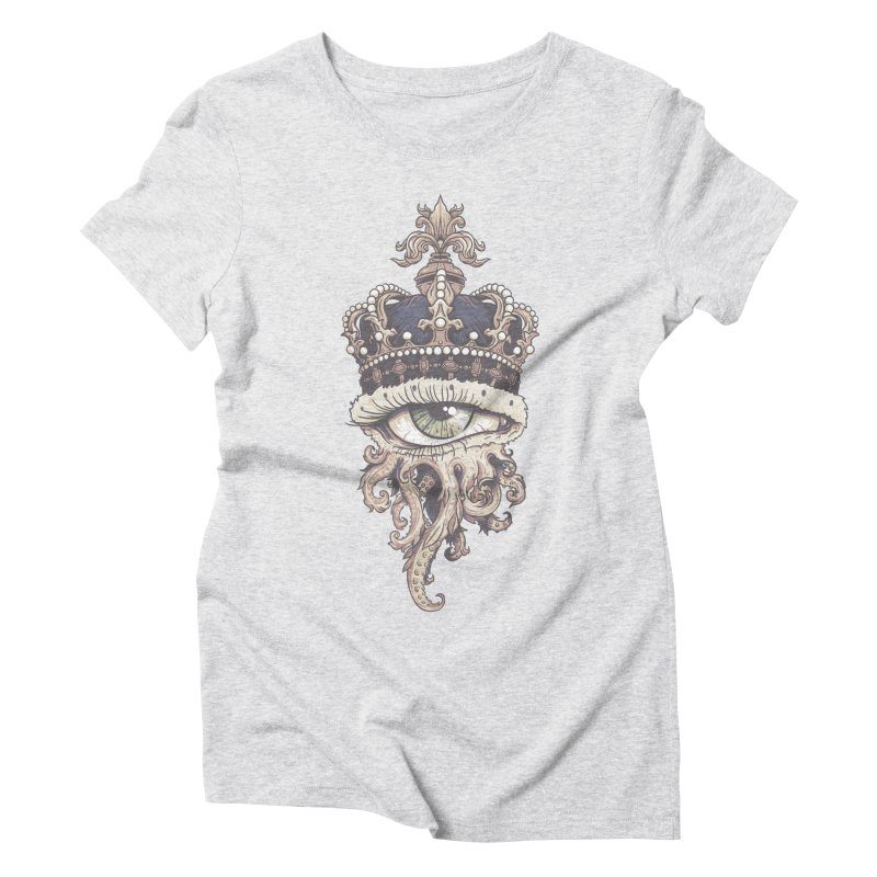 who runs the world? Women's Triblend T-Shirt by Alexhovey's Artist Shop