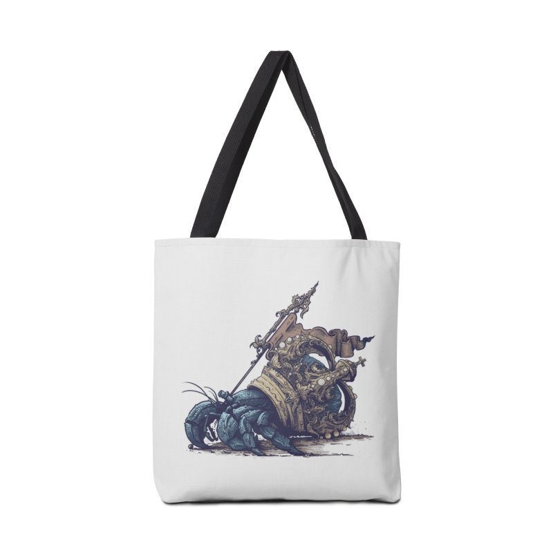 Hermit Accessories Tote Bag Bag by Alexhovey's Artist Shop