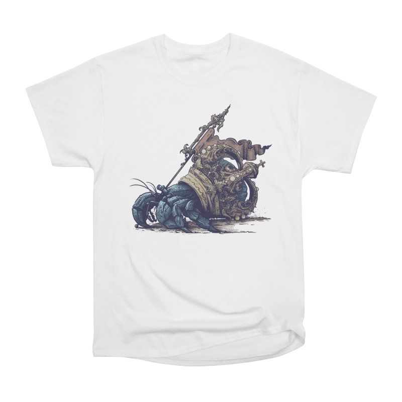 Hermit Women's Heavyweight Unisex T-Shirt by Alexhovey's Artist Shop