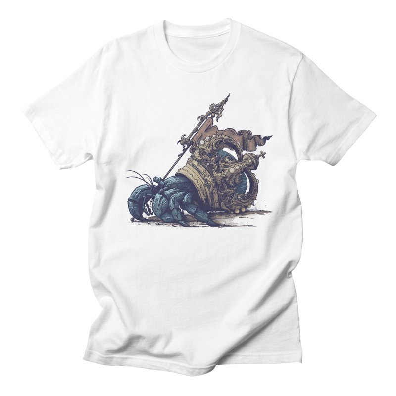 Hermit Men's Regular T-Shirt by Alexhovey's Artist Shop