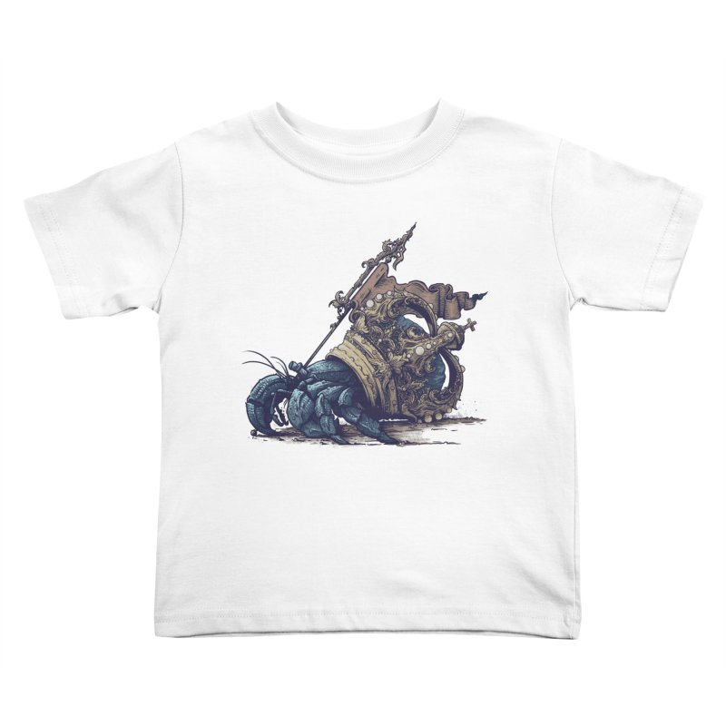 Hermit Kids Toddler T-Shirt by Alexhovey's Artist Shop