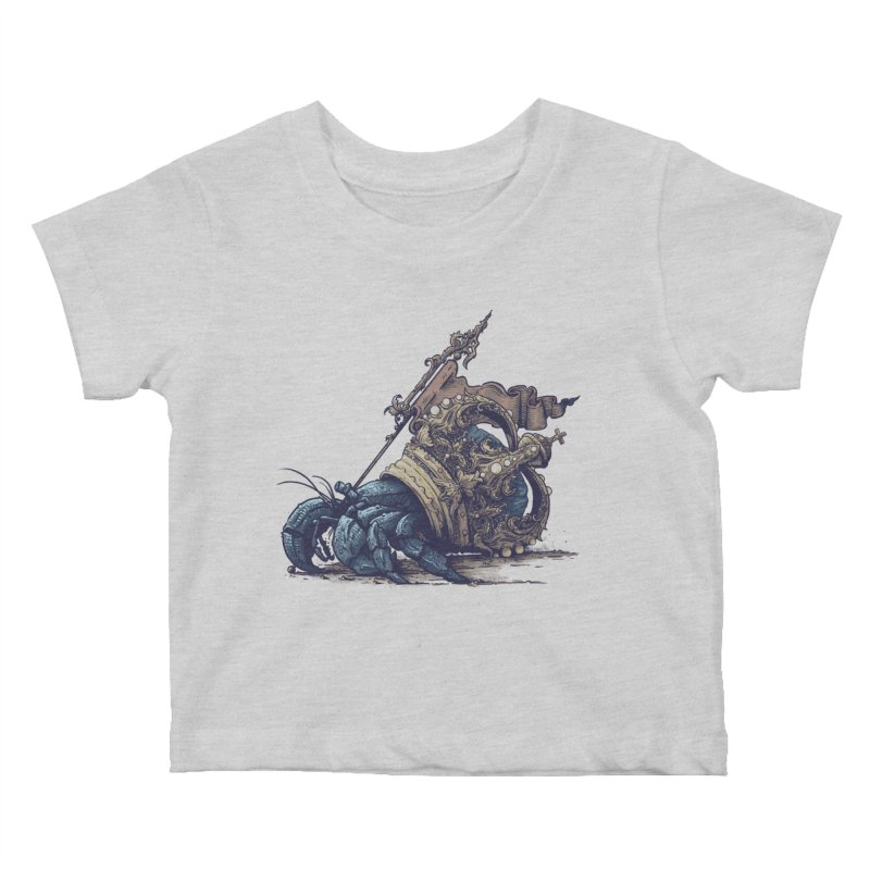 Hermit Kids Baby T-Shirt by Alexhovey's Artist Shop