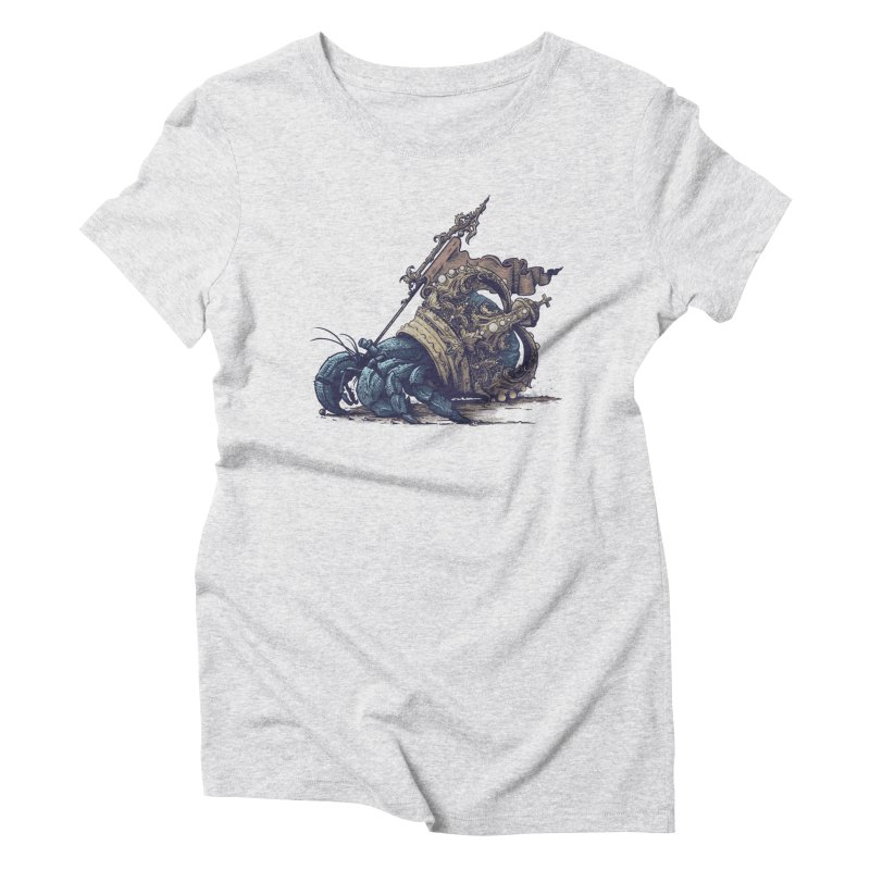 Hermit Women's T-Shirt by Alexhovey's Artist Shop