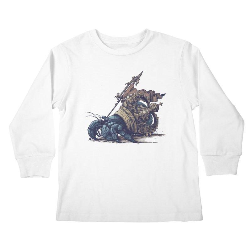 Hermit Kids Longsleeve T-Shirt by Alexhovey's Artist Shop