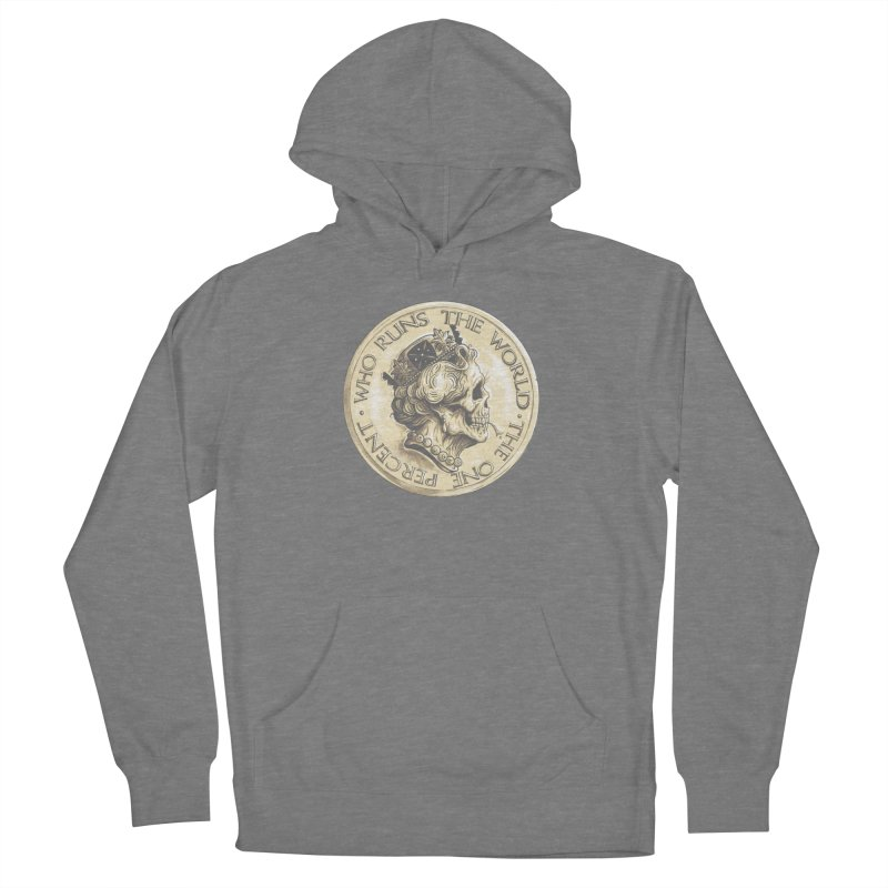 Every coin has two faces Women's Pullover Hoody by Alexhovey's Artist Shop