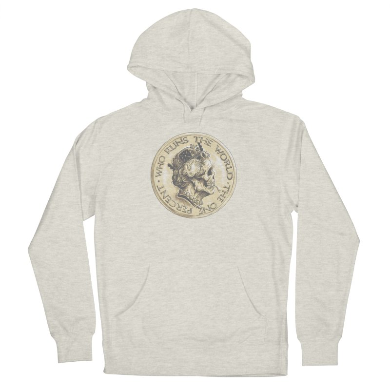 Every coin has two faces Women's French Terry Pullover Hoody by Alexhovey's Artist Shop