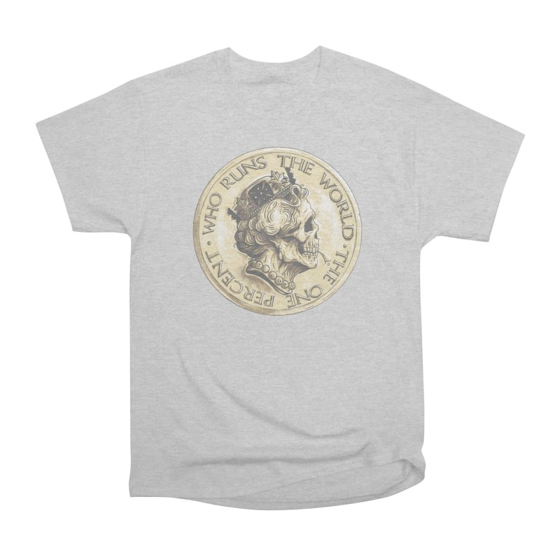 Every coin has two faces Women's Heavyweight Unisex T-Shirt by Alexhovey's Artist Shop