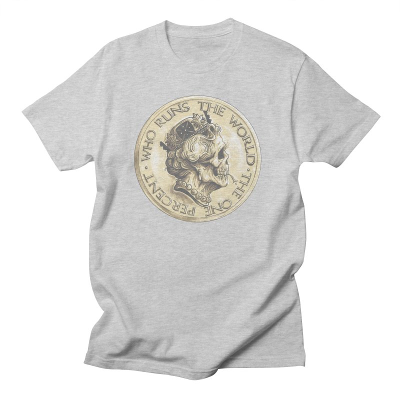 Every coin has two faces Men's T-Shirt by Alexhovey's Artist Shop
